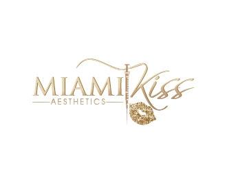 Miami kiss  logo design