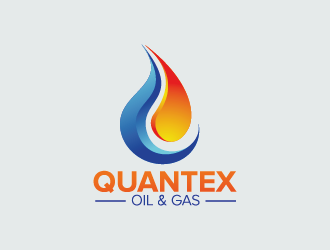 QUANTEX OIL & GAS logo design
