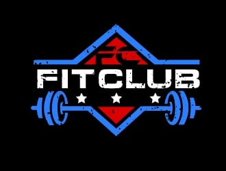 Fit Club logo design