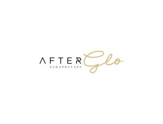 After Glo logo design