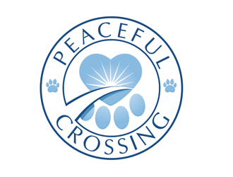 Peaceful Crossing logo design