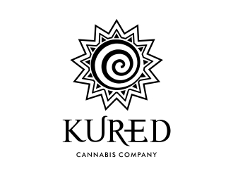 Kured Cannabis Company logo design