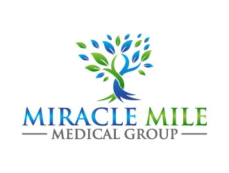 Miracle Mile Medical Group logo design by pixalrahul