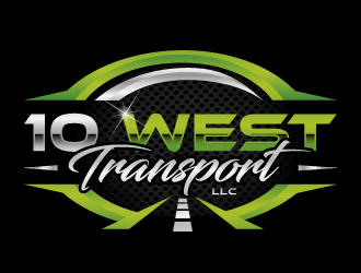 10 WEST TRANSPORT LLC logo design winner