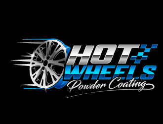 Hot wheels powder coating  logo design winner