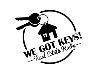 WE GOT KEYS is the name of the logo logo design