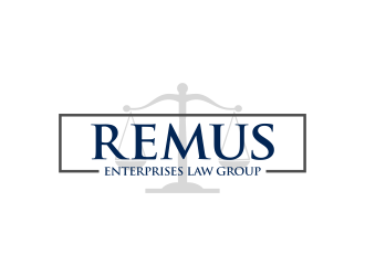 Remus Enterprises Law Group logo design
