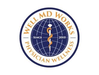 Well MD Works logo design