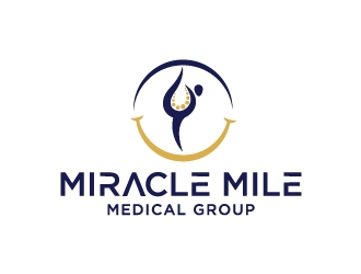Miracle Mile Medical Group logo design by Foxcody