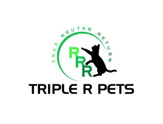 Triple R Pets logo design by Rock