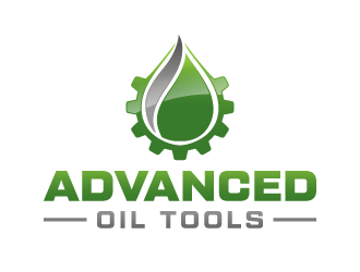 Advanced Oil Tools logo design