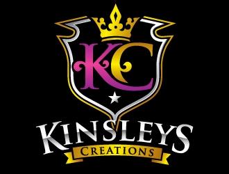 Kinsleys Creations logo design