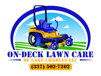 On-Deck Lawn Care of Lake Charles LLC logo design