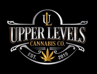 Upper Levels (Cannabis Co.) logo design