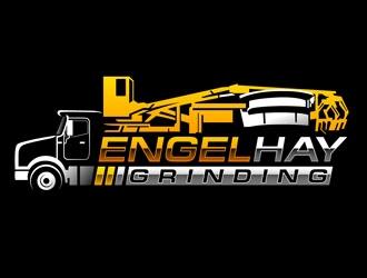 Engel Hay Grinding logo design
