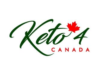 Keto4Canada logo design