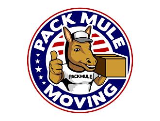 Pack Mule Moving LLC logo design