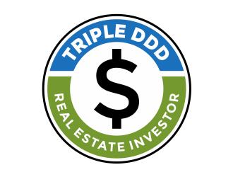Triple DDD: Real Estate Investor logo design