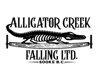Alligator Creek Falling Ltd. logo design