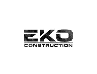 EKO construction logo design