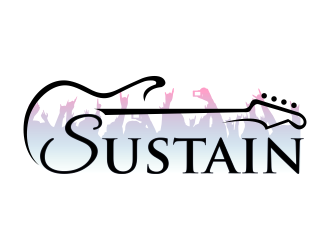 Sustain logo design