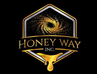 Honey way Inc. logo design
