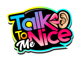 Talk To Me Nice logo design
