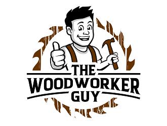 The woodworker guy logo design winner