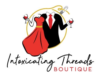 Intoxicating Threads Boutique  logo design winner