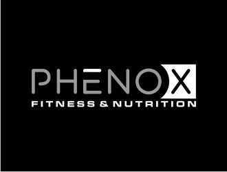 PhenoX Fitness & Nutrition logo design
