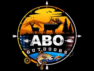 ABO OUTDOORS logo design