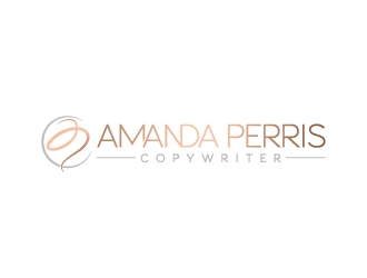 Amanda Perris - copywriter logo design winner