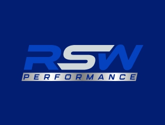 RSW Performance logo design