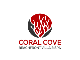 Coral Beach Boutique Resort & Spa logo design