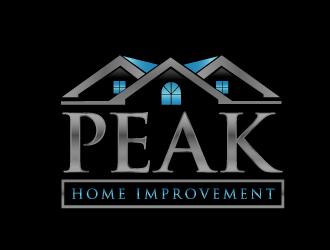 Peak Home Improvement logo design