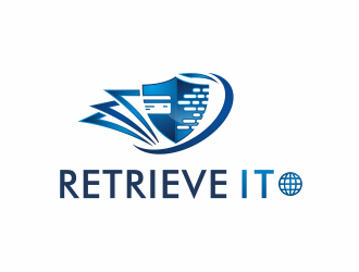 Retrieve It logo design winner