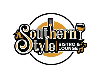 Southern Style Bistro and Lounge logo design