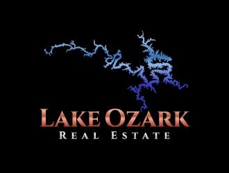 Lake Ozark Real Estate logo design