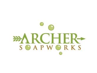 Archer Soapworks logo design