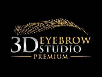 3D Eyebrow Studio  logo design