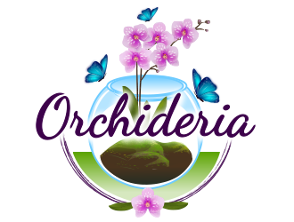 Orchideria logo design
