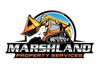 Marshland Property Services Logo Design