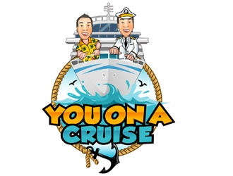 You on a Crusie logo design