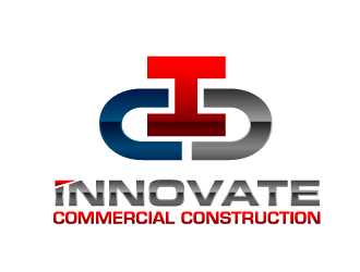 INNOVATE Commercial Construction logo design
