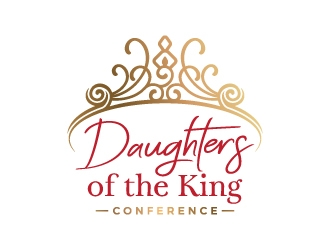Daughters of the King Conference logo design