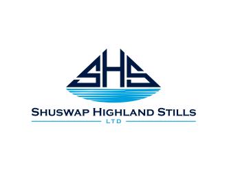 Shuswap Highland Stills LTD logo design by ammad