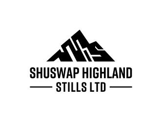 Shuswap Highland Stills LTD logo design by Barkah
