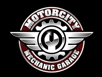 The Motorcity Mechanic Garage logo design