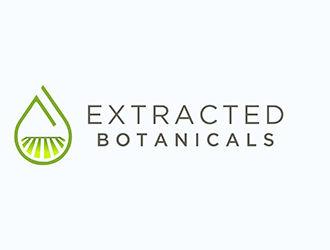 Extracted Botanicals logo design