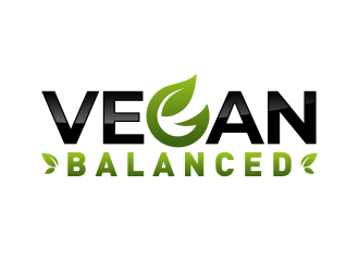 Vegan Balanced logo design